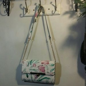 A New Day Floral Clutch/Purse